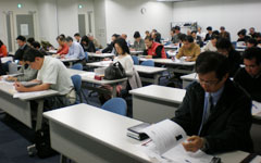 審査・指導学習会に64人 強まる個別指導・経済審査