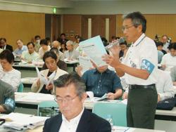 東日本大震災被災地支援 〝医療機関再建に充分な国庫補助を〟 ドクターズ・デモンストレーション・シンポに参加