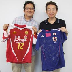 会員インタビュー 小田泰史先生(西宮市) 女子サッカー なでしこジャパン 勝利