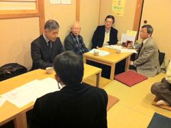 北阪神支部 新春政策研究会 自衛隊病院 住民も受診可能に