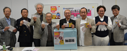 大型宣伝が終了 市民から大きな反響  〝医療考える機会に〟  クイズで考える日本の医療 ラジオ関西「医療知ろう!」