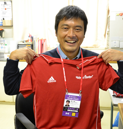 新聞部の会員訪問 今年はラグビーW杯日本開催 <br/>ドクターとしてチーム支える